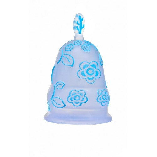Teens menstrual cup  - Small Size Blue cup