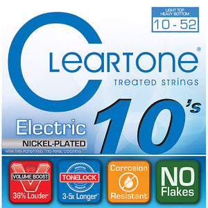 Cleartone Electric Nickel-Plated Strings