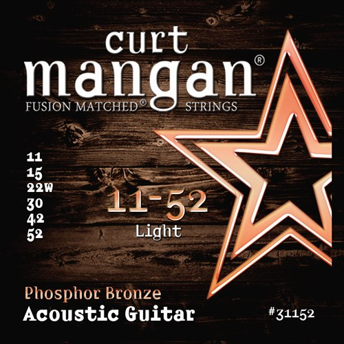 Curt Mangan Phosphor Bronze Acoustic Strings