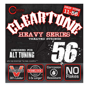 Cleartone Heavy Series Treated Strings