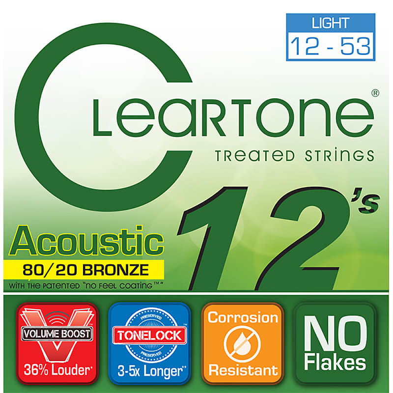 Cleartone 80/20 Bronze Acoustic Strings