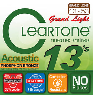 Cleartone Phosphor Bronze Acoustic Strings