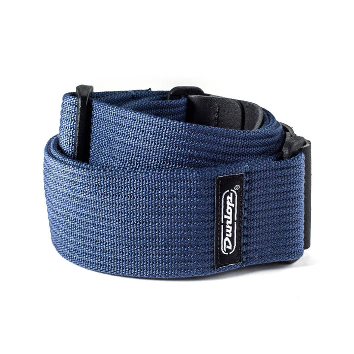 Dunlop Ribbed Cotton Navy Blue Strap
