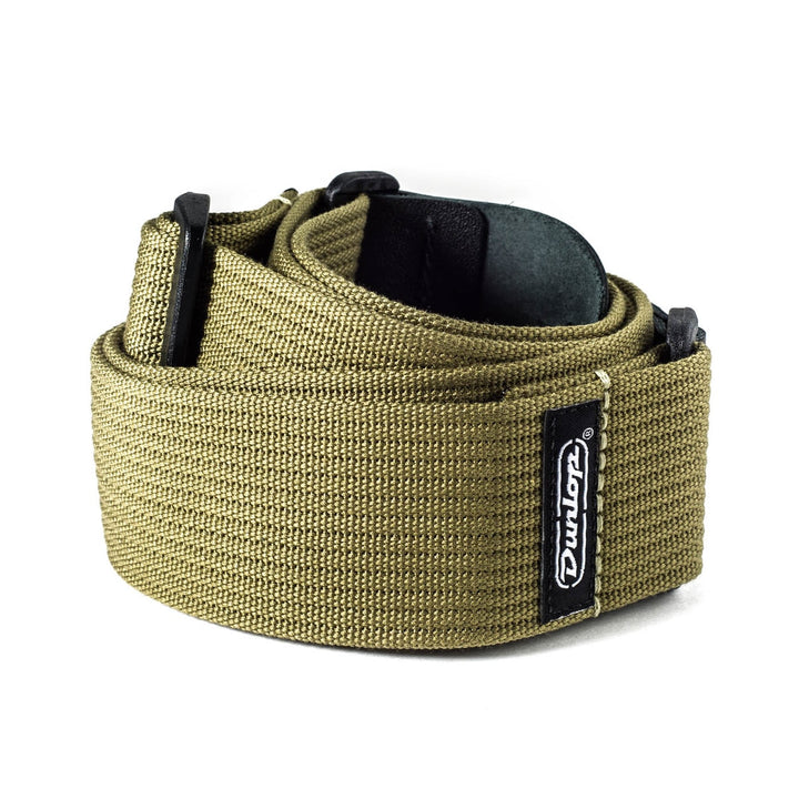 Dunlop Ribbed Cotton Olive Green Strap