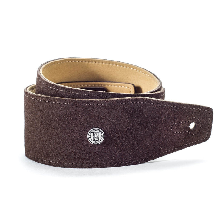 Dunlop BMF Suede Mahogany Strap