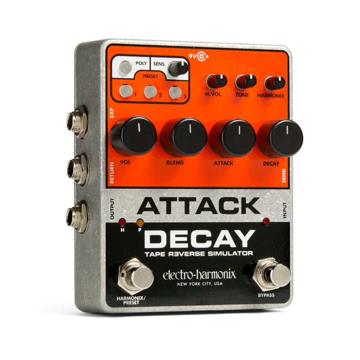 EHX Attack Decay Tape Reverse Simulator