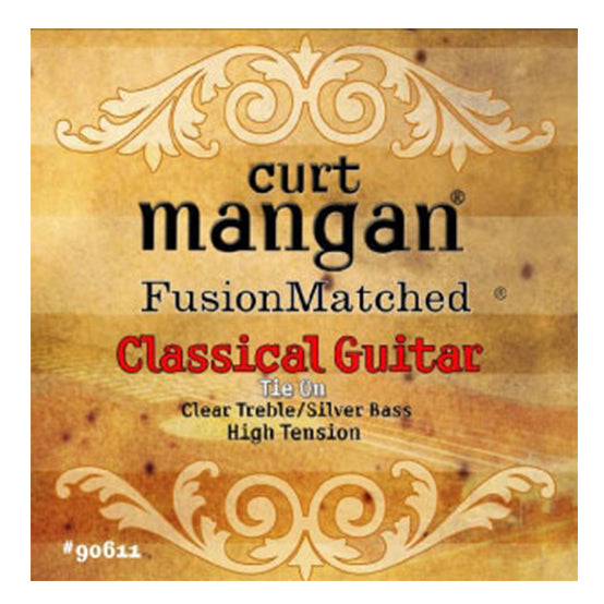 Curt Mangan High Tension Classical Strings