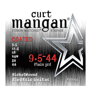 Curt Mangan Nickel Wound COATED Strings