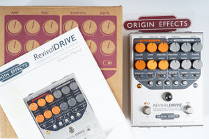 Origin Effects Revival Drive Custom with Revival Footswitch