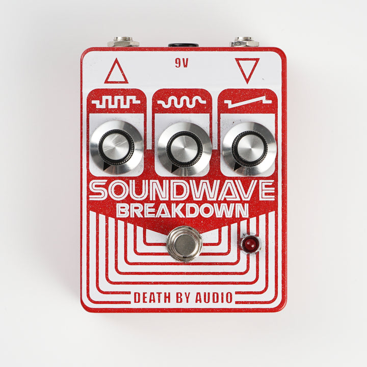 Death By Audio Soundwave Breakdown Fuzz with Volume Knob