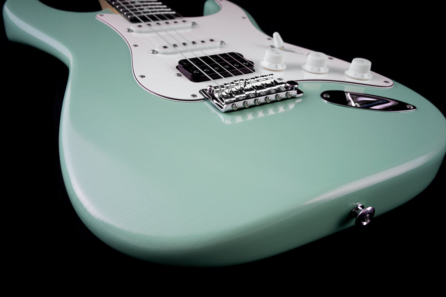 Suhr Classic S Antique, Surf Green, HSS, Rosewood, SSCII