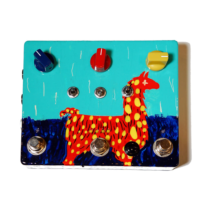 JAM Pedals Delay Llama XTREME - Custom Hand Painted NAMM 2020