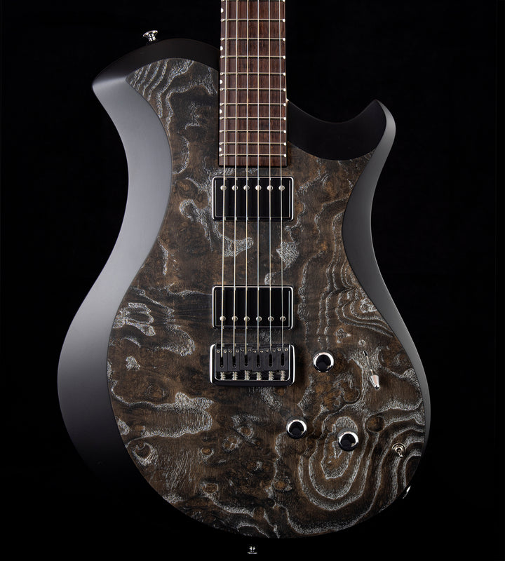 Relish Mary One Burl Ash Black Edge w/Piezo
