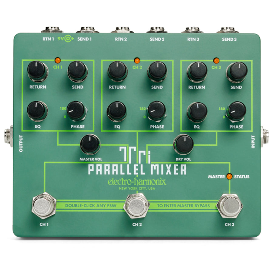 EHX Tri Parallel Mixer