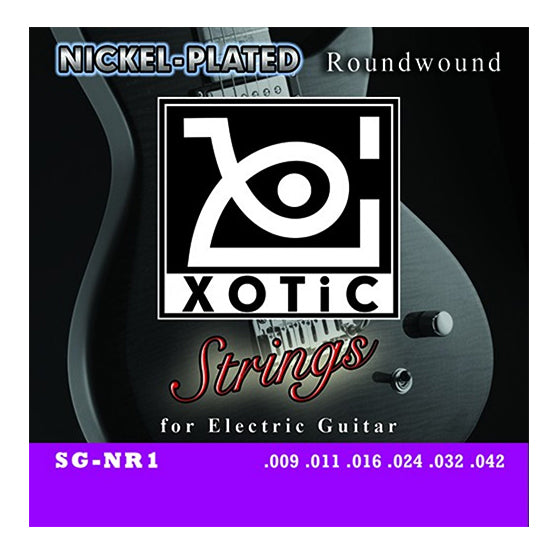Xotic Stainless Nickel Plated Electric Guitar Strings