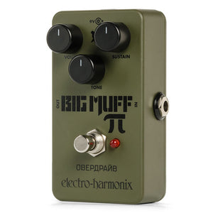 EHX Green Russian Big Muff Reissue