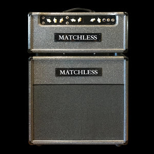 Matchless HC-30 Sparkle Grey Head and matching ESS: 112 Cab