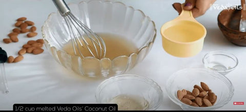 add coconut oil in whipped shea butter