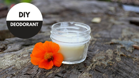 how to make your own natural deodorant at home