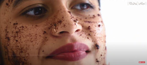 how to coffee face mask for acne