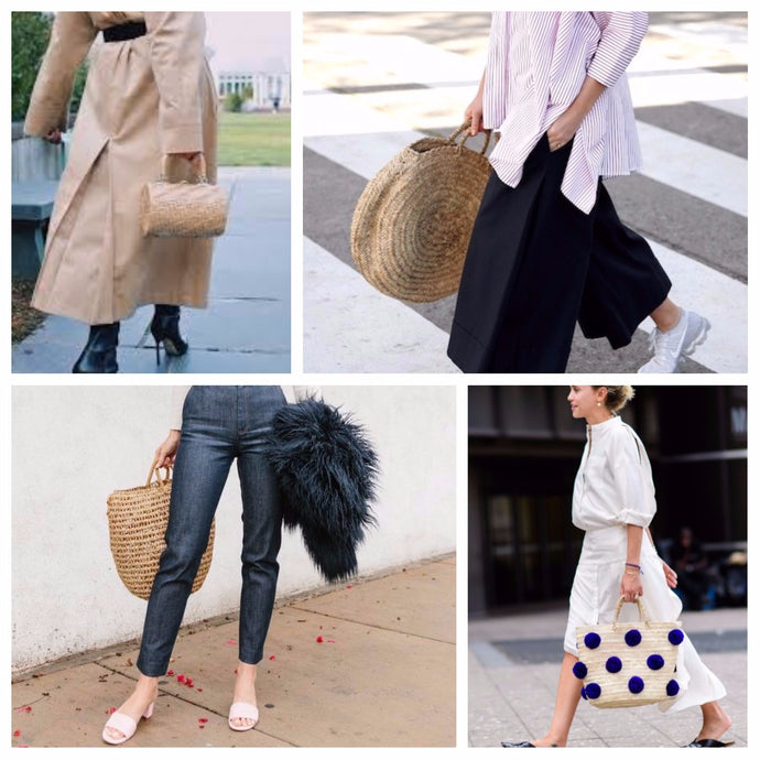 Straw bags for Fall
