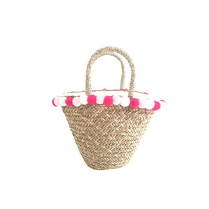 Small Straw Basket - MOOS STRAW BAGS