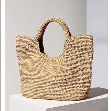 The Classic Straw Bag - MOOS STRAW BAGS