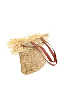 The Straw Ibiza Bag - MOOS STRAW BAGS