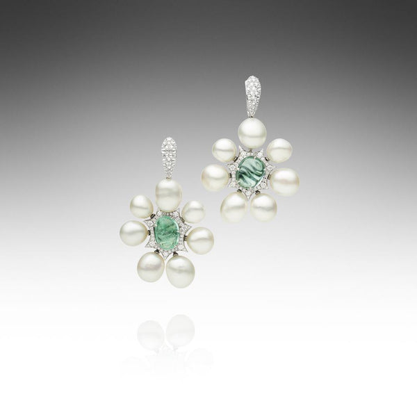 Rockpool Paraiba Earrings