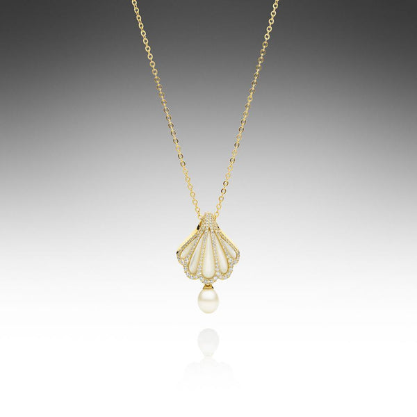 Rockpool Pendant Yellow Gold