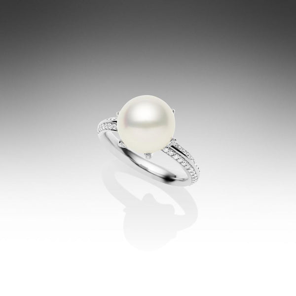 Rockpool Ring White Gold 52