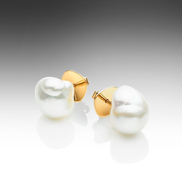 Baroque Pearl Studs
