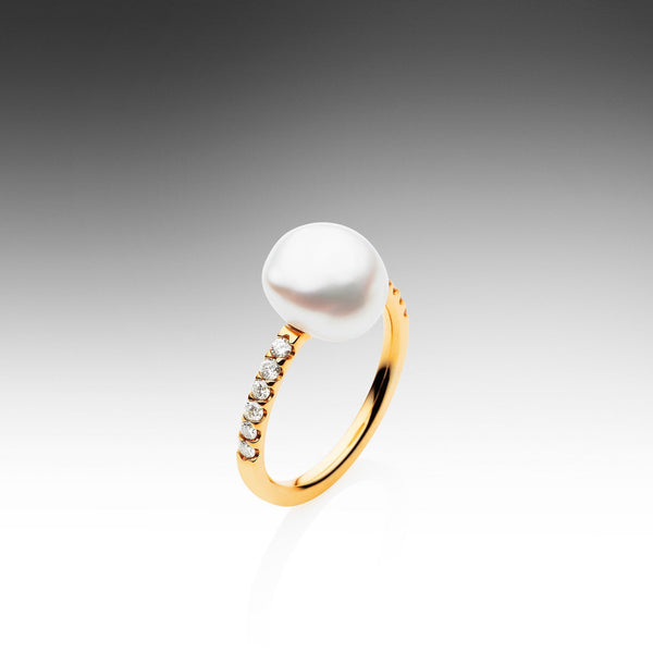 Keshi Eternity Ring