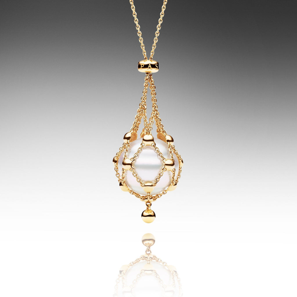 set in freshwater diamond pearl product and yellow pendant zamels gold