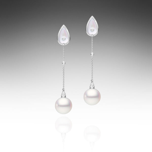 Maxima Pearl Earrings