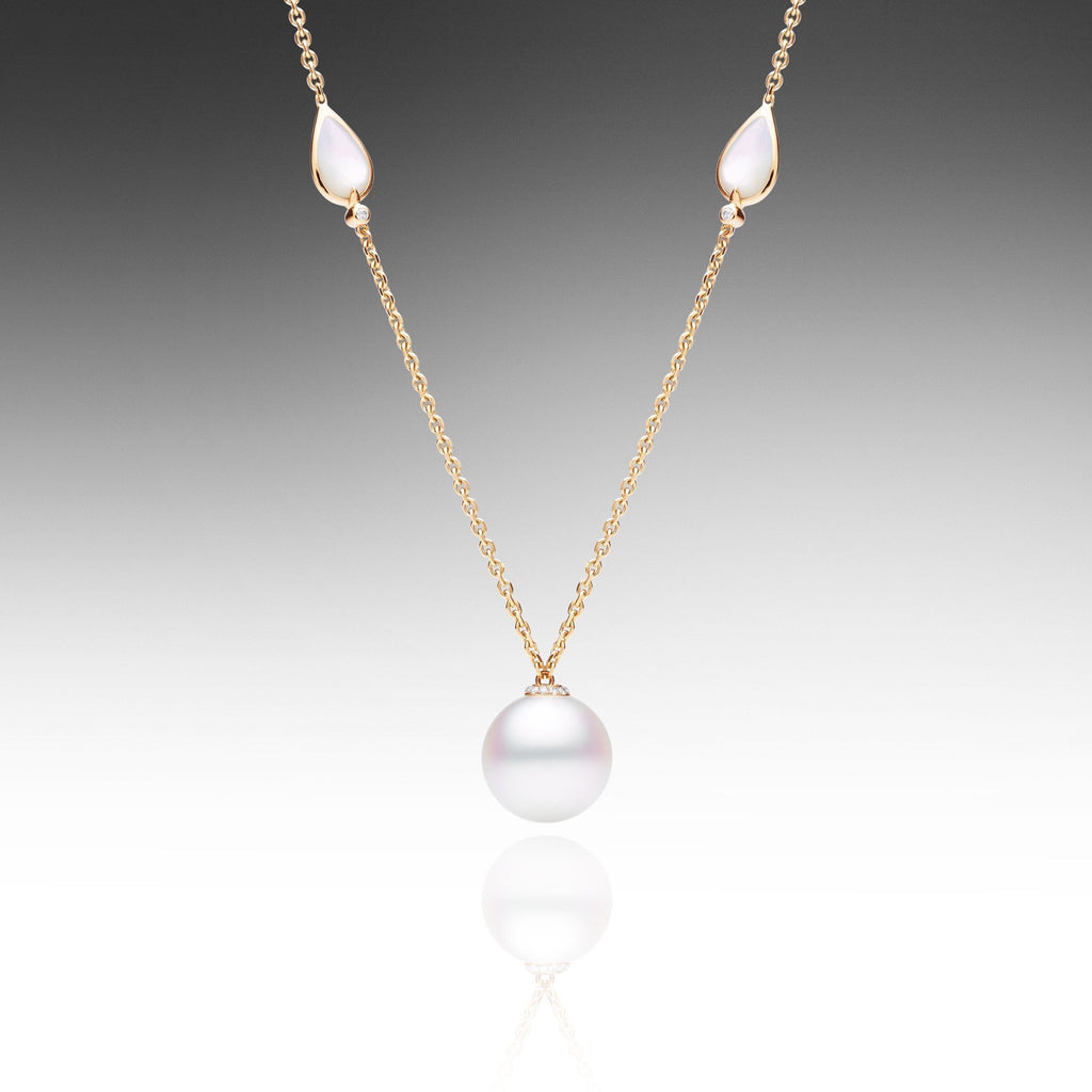 multi pink winterson with pearl grey coloured and freshwater necklace white silver in