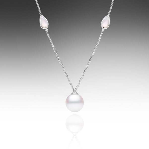 Maxima Single Pearl Necklace