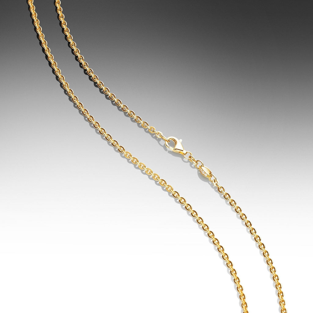 twisted mirror sachi jewelry yellow gold products unspecified necklace chain