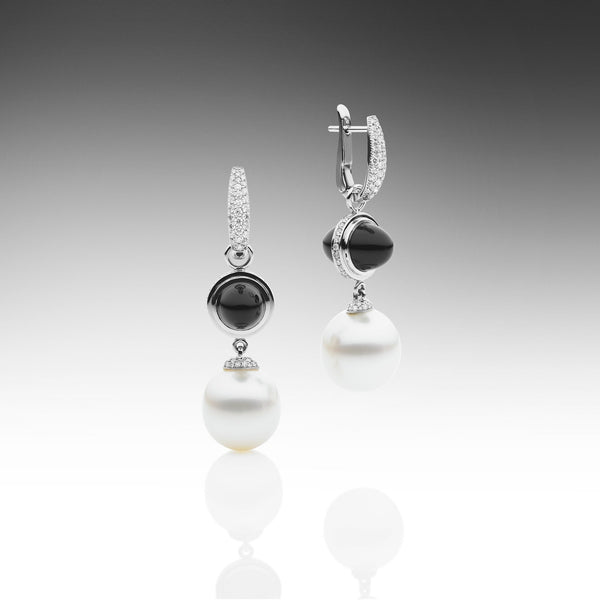 Muse Black Onyx Earrings