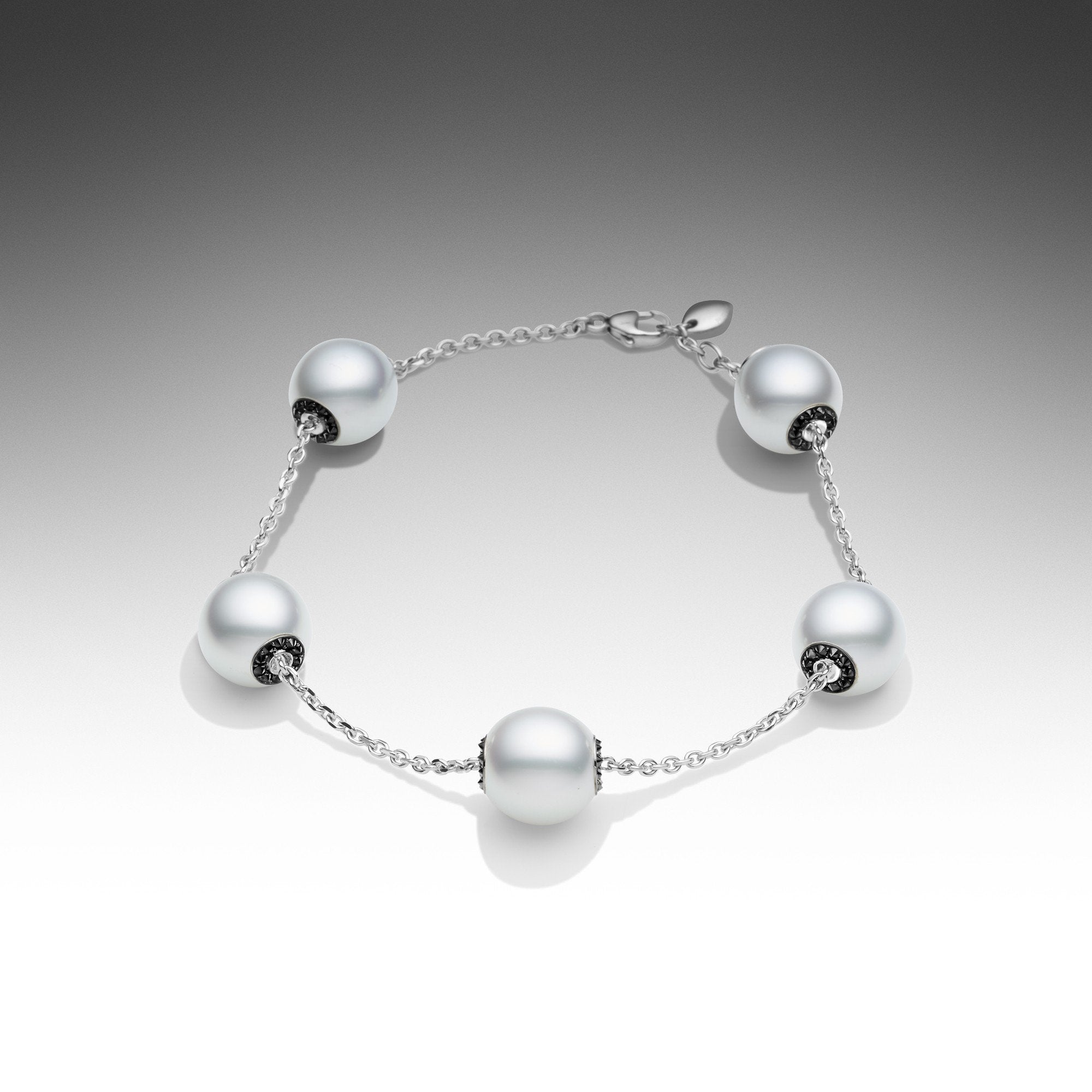 products touchstone bracelet black diamond pearl paspaley south sea