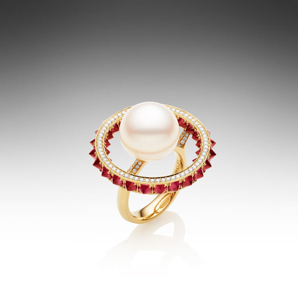 Touchstone Ruby Ring
