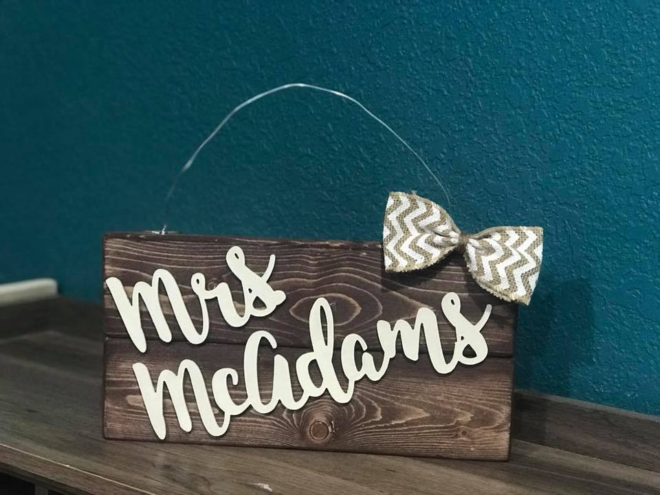 04/21/2018 (6:30pm) Teacher Appreciation 3D Letter Workshop (Clermont)