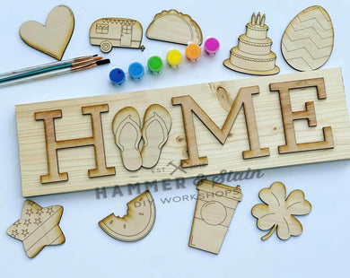Interchangeable Home Sign (Clermont)