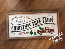 Holiday Truck Sign/Tray (Gallery)