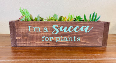 03/06/2019 6:30pm Wood and Succulent Workshop (Clermont)