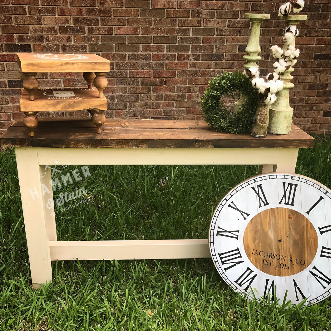 09/17/2017 (2pm) Rustic Sofa Table Workshop (Gainesville)