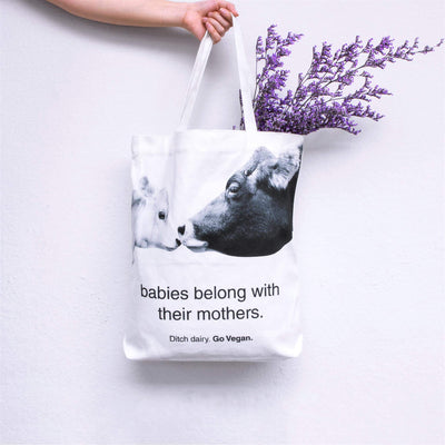 """ditch dairy"" tote bag"
