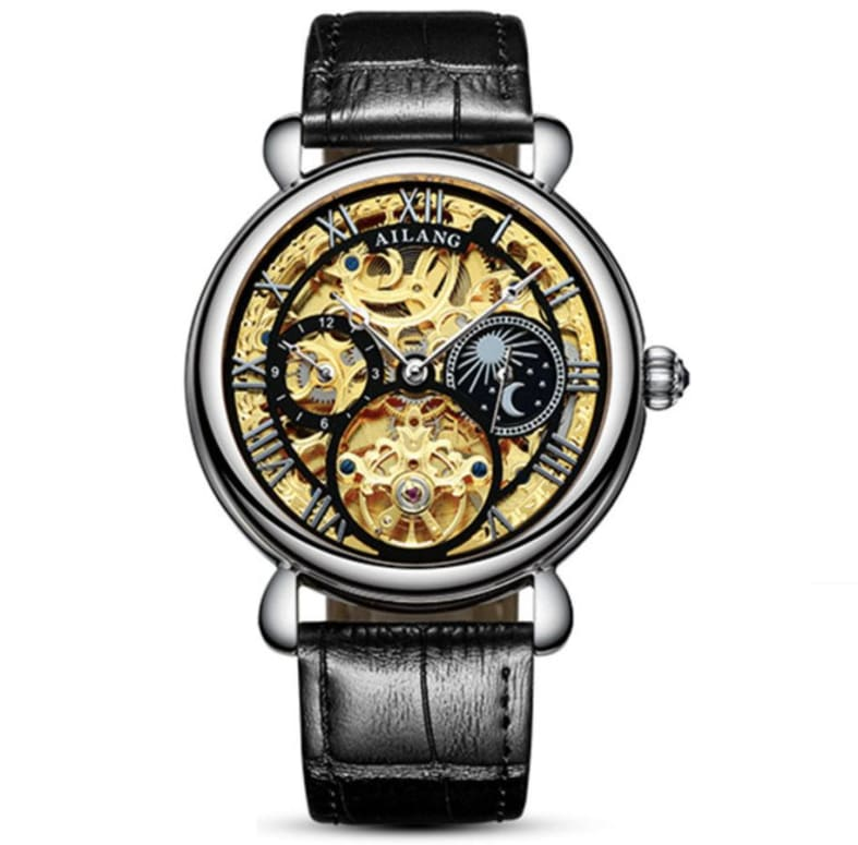Ailang - Montre Homme Gold Brazil Automatique Only-Gentlemen.com Free Shipping