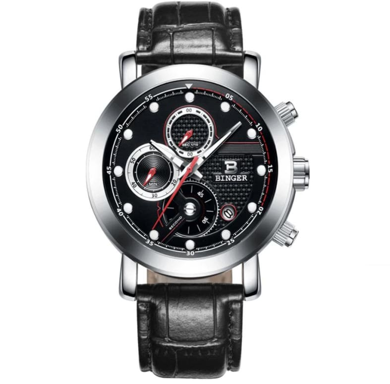 Binger - Montre Homme Black Range A Quartz Only-Gentlemen.com Free Shipping