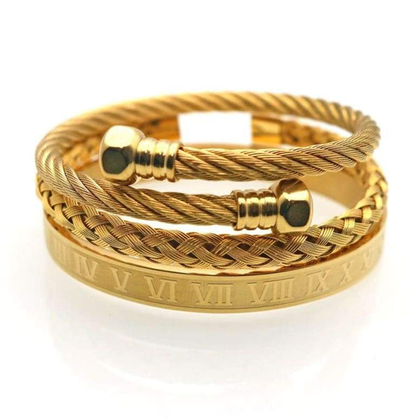 Ensemble bracelet Royal Romain Bracelets only-gentlemen.com Livraison gratuite